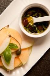 pinzimonio mela verde e melone 2