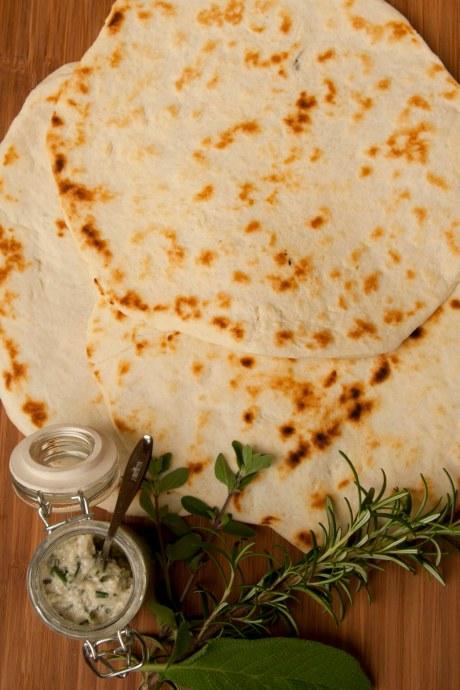 piadina romagnola e mousse di pancetta 2